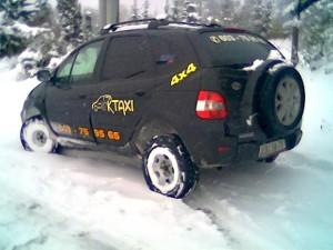 První vůz firmy OK TAXI Jeseník - rok 2002