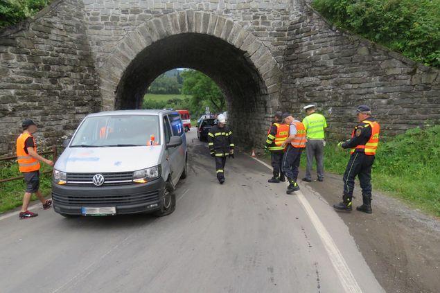 Dopravní nehoda zkomplikovala dopravu na Šumpersko