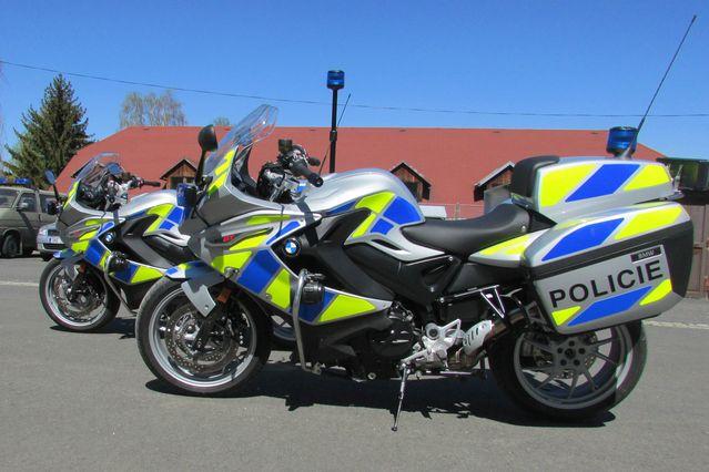 Jesenický dopravní inspektorát byl vybaven novými motocykly BMW F 800 GT