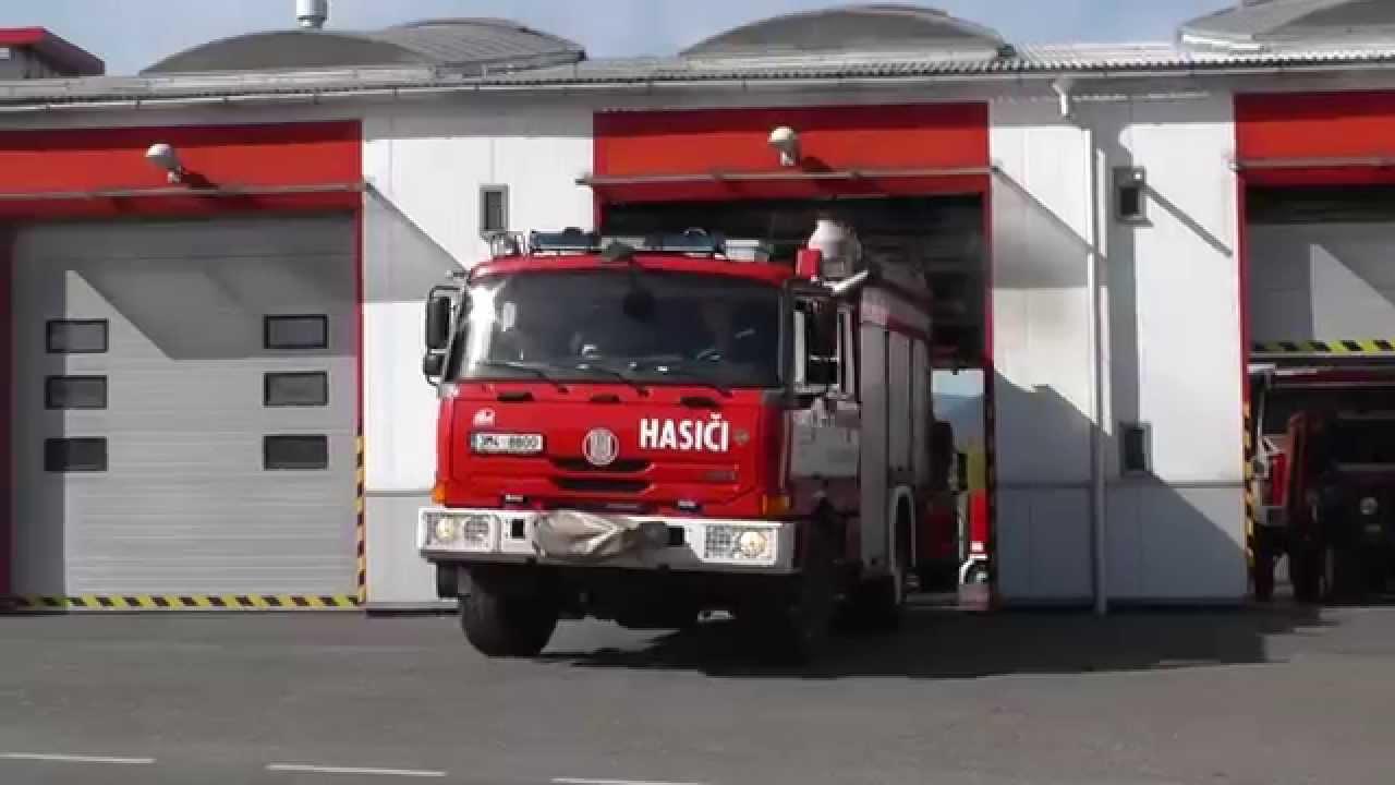 Kvůli hořícímu uhlí v kotelně evakuovali hasiči mateřskou školku