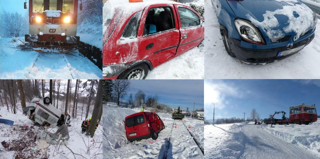 Sněhová nadílka potrápila nejednoho řidiče