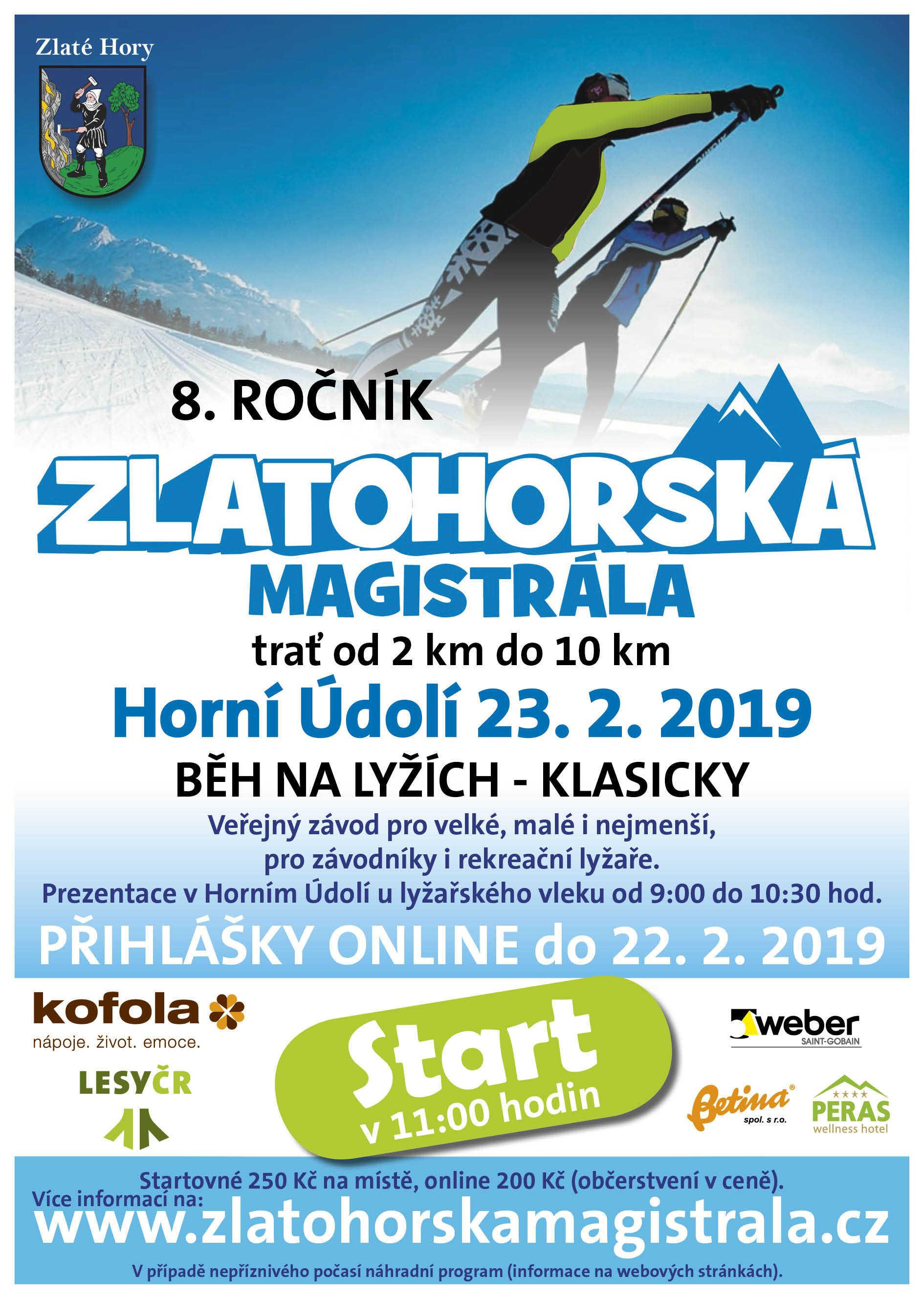 Na polesí Rejvíz proběhne osmý ročník dobročinného závodu Zlatohorská magistrála