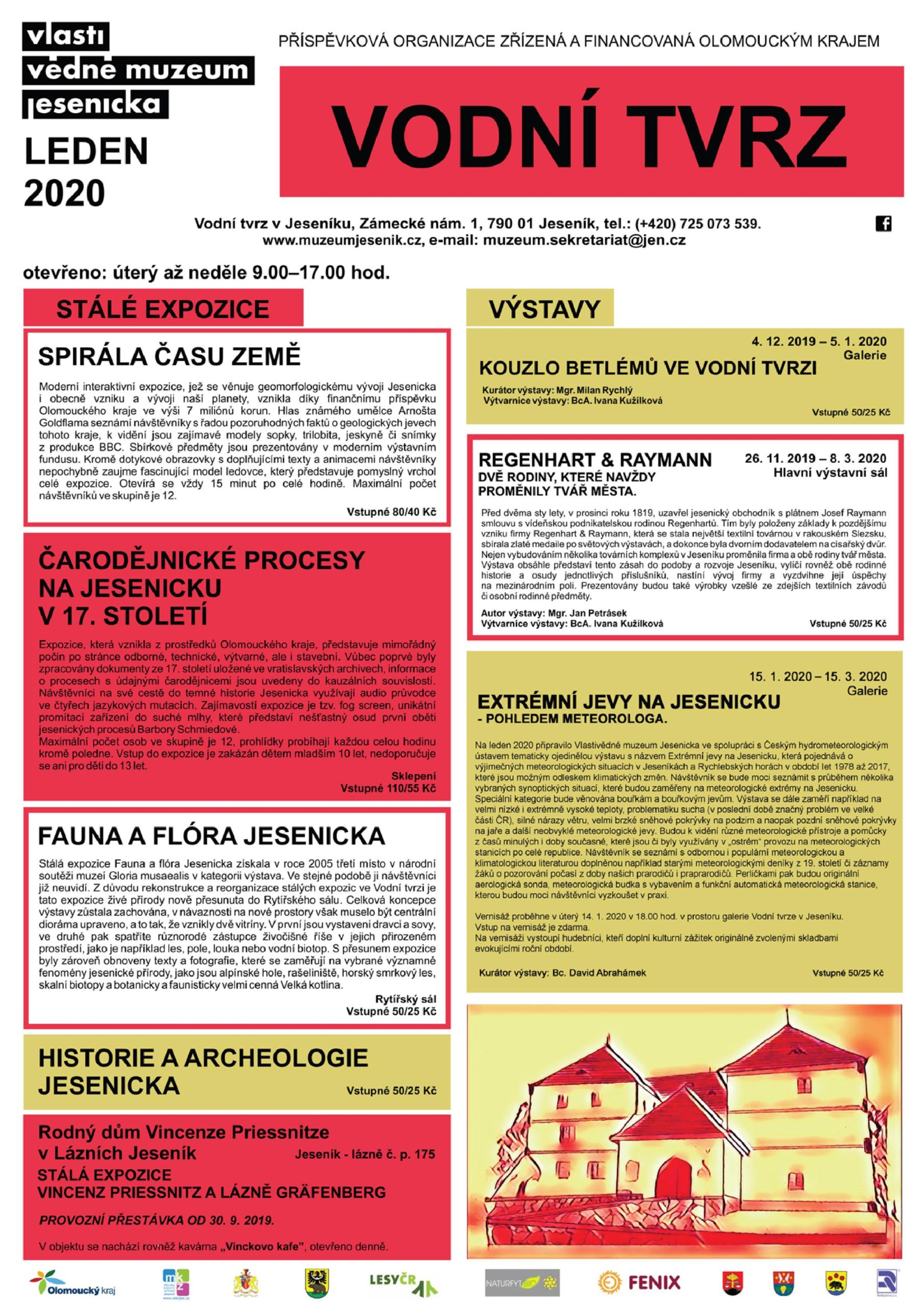 Program Vlastivědného muzea – LEDEN 2020