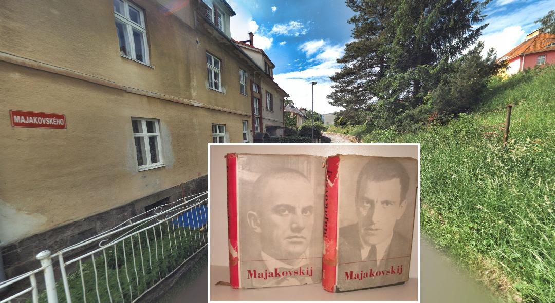 Karel Mičánek: Ulice v Jeseníku – Majakovského